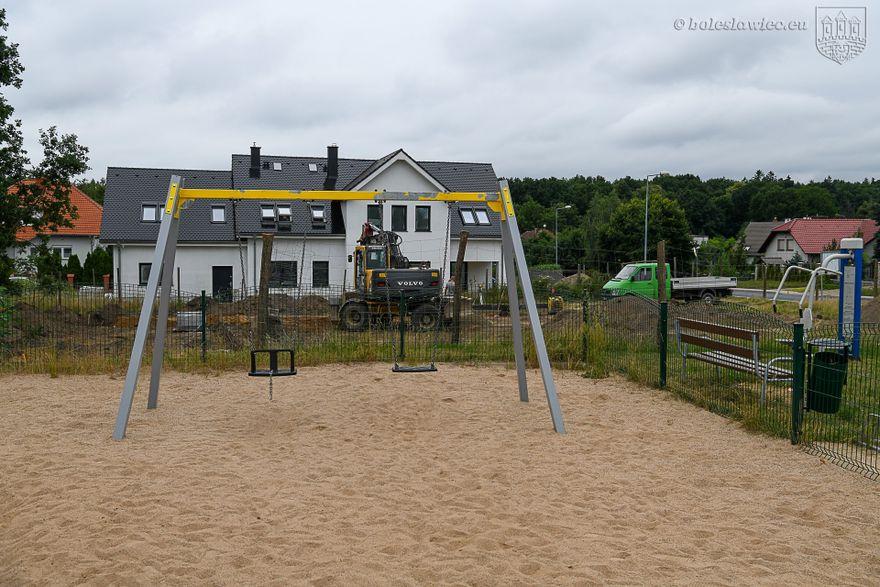 Bolesławiec: Powstaje boisko