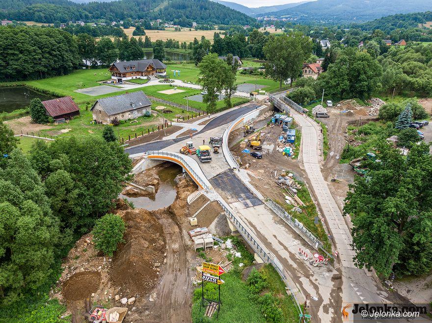 Kostrzyca: Finisz budowy mostu