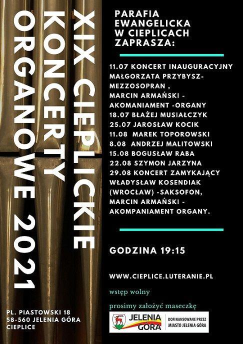 Jelenia Góra: Dziś inauguracja XIX Cieplickich Koncertów Organowych