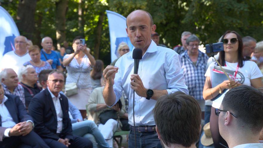 Jelenia Góra: Sporo emocji na spotkaniu z politykami PO