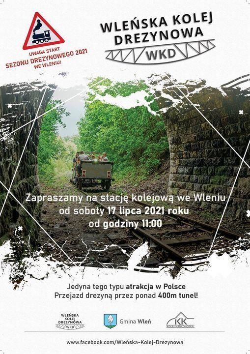 Wleń: Rusza kolej drezynowa