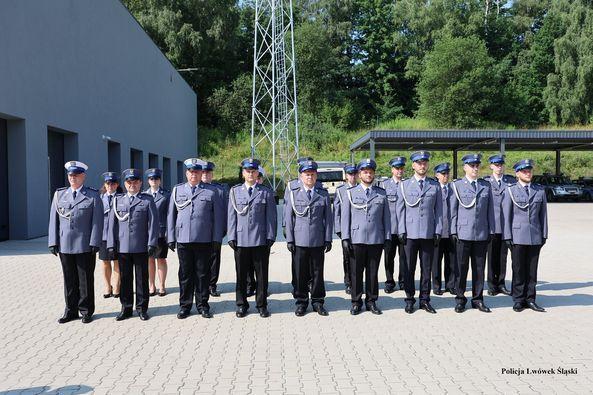 Lwówek Śląski: Po święcie policji