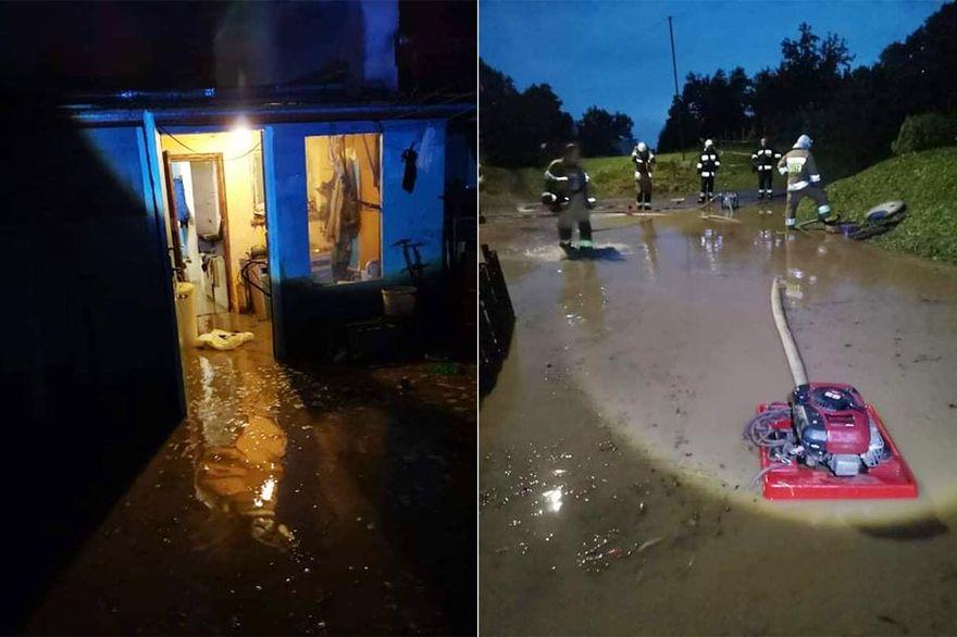 Gmina Wleń: Podtopienia w gminie
