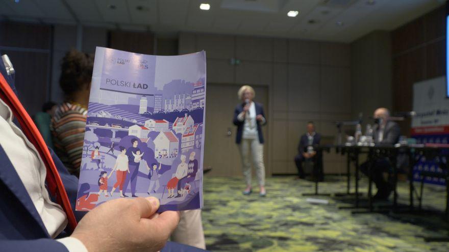 Jelenia Góra: Mówili o Polskim Ładzie, a w tle awantura