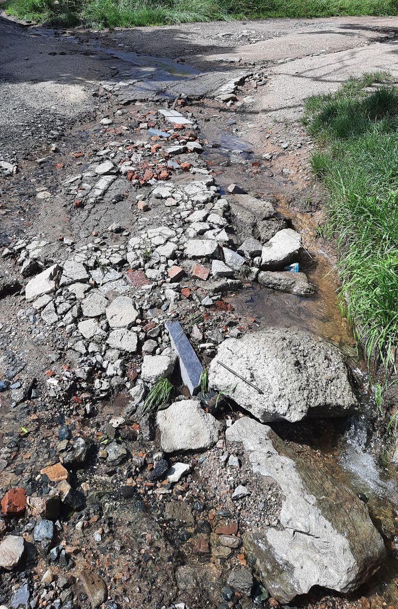 Kowary: Ucierpiały drogi i domy