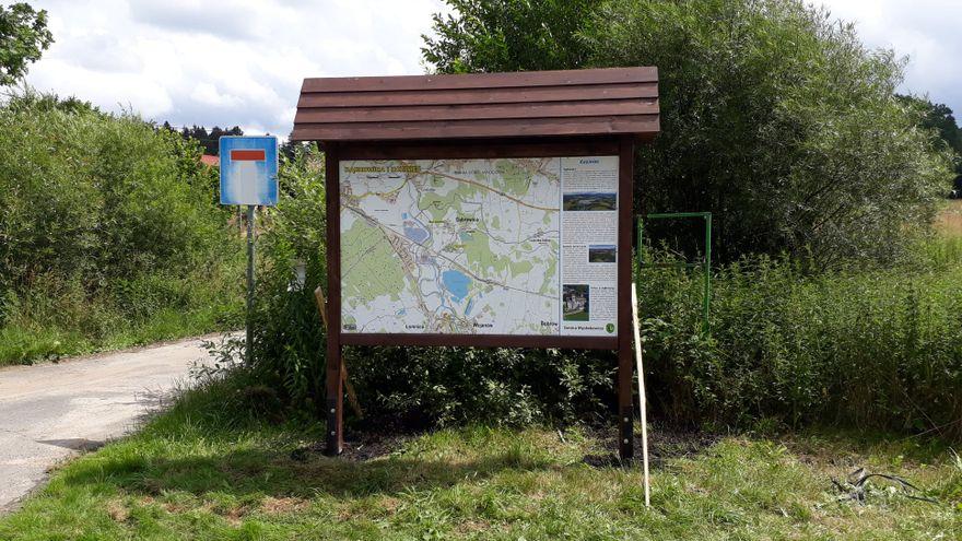 Dąbrowica: Dla turystów w Dąbrowicy