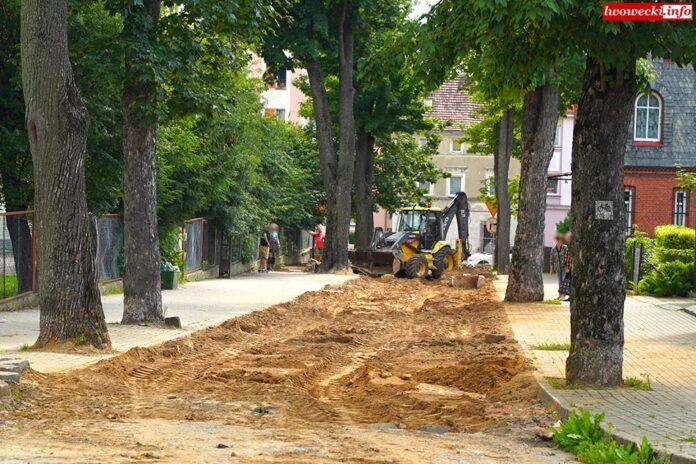 Gryfów Śląski: Ruszył remont ulicy
