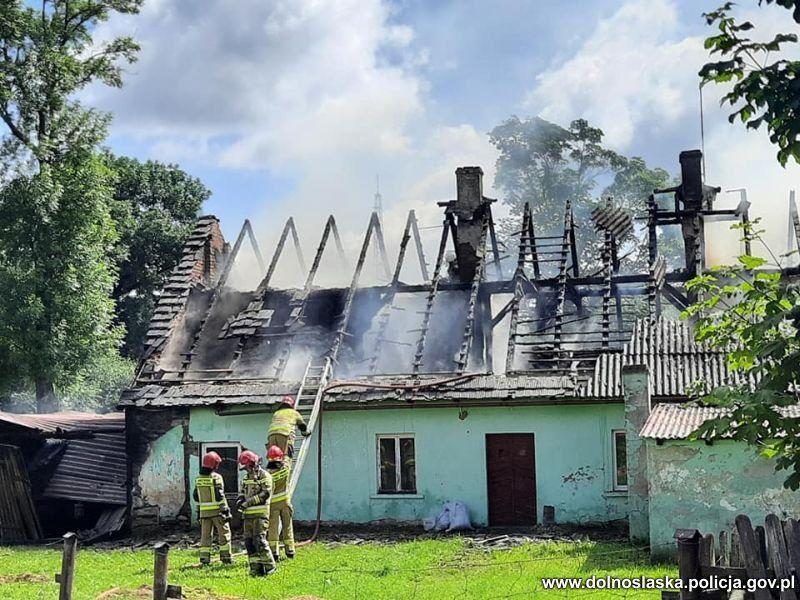 Region: Spalił siostrze dom