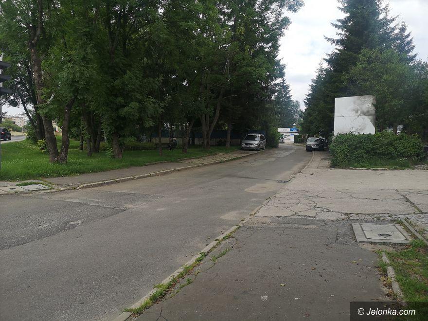 Jelenia Góra: Fragment ulicy Flisaków wkrótce do remontu