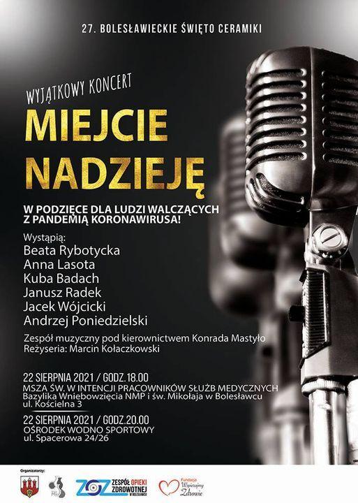 Bolesławiec: Miejcie nadzieję – koncert