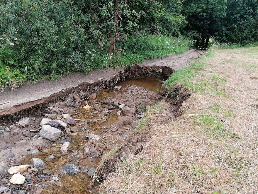 Region: Zniszczenia na szlakach