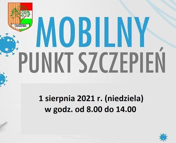 Olszyna: Mobilny punkt szczepień
