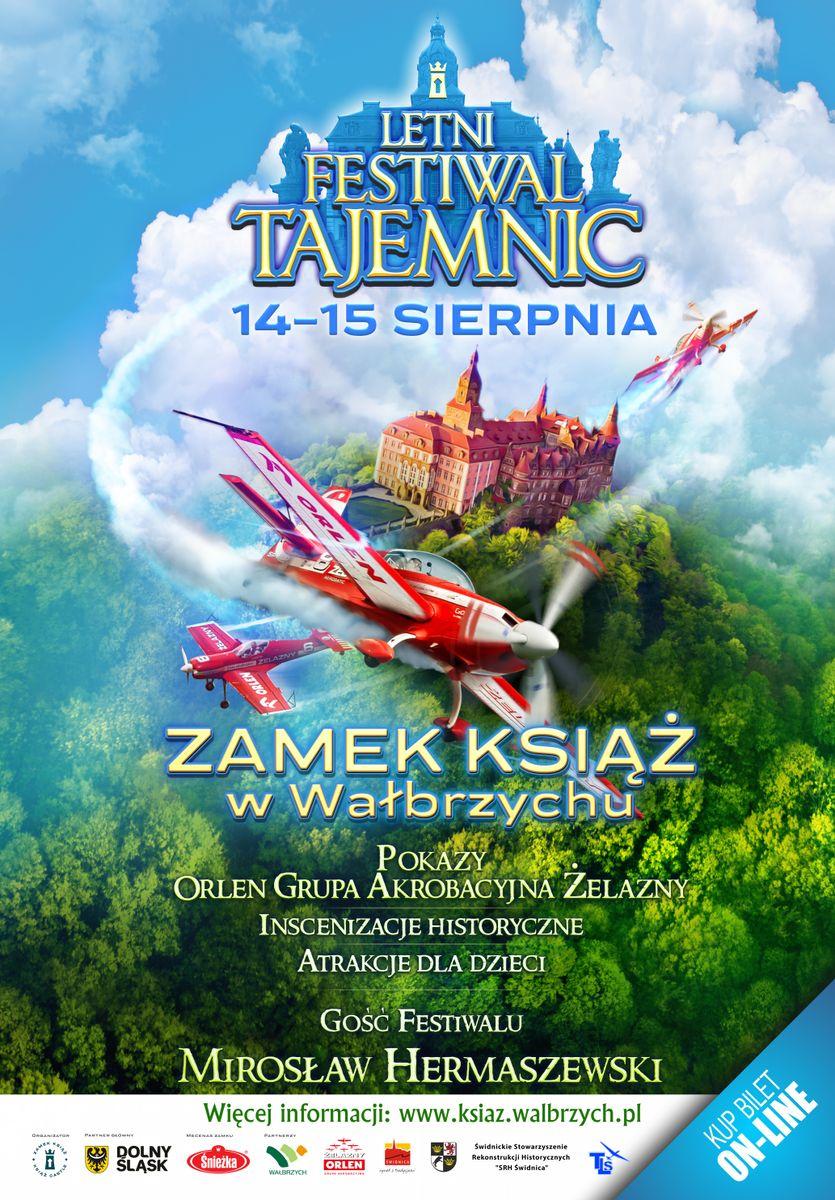 Wałbrzych: Festiwal Tajemnic w Zamku Książ