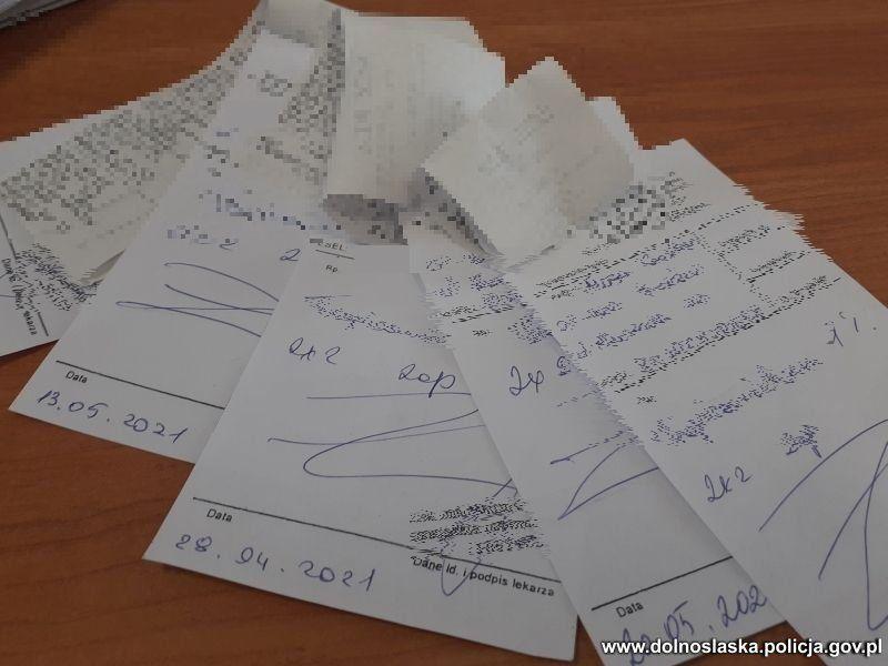 Bolesławiec: Zarzuty za sfałszowanie recept