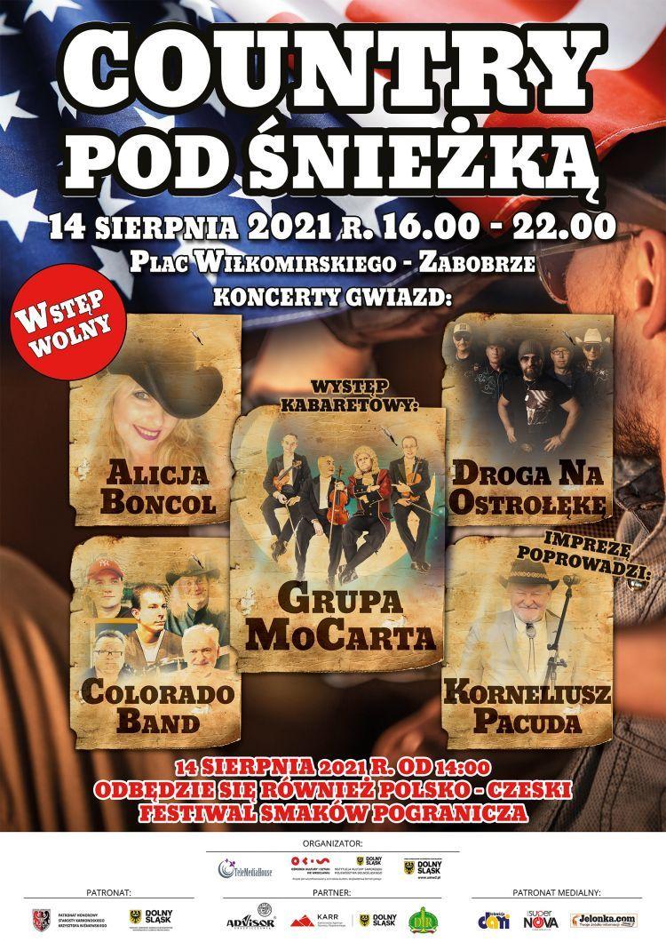 Jelenia Góra: Country i Grupa MoCarta już w sobotę!