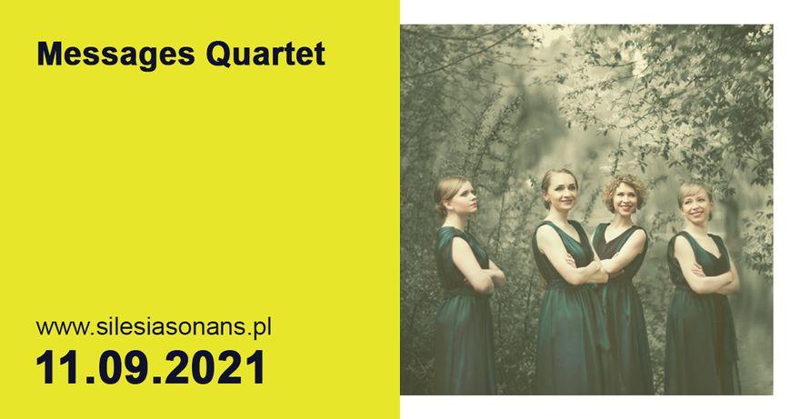 Jelenia Góra: 24. Silesia Sonans zaprasza – Messages Quartet