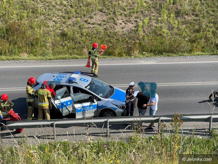 Jelenia Góra: Zderzenie w Maciejowej (aktualizacja)