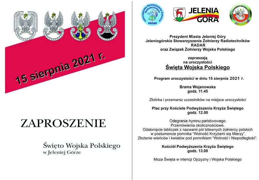 Jelenia Góra: Święto Wojska Polskiego już jutro