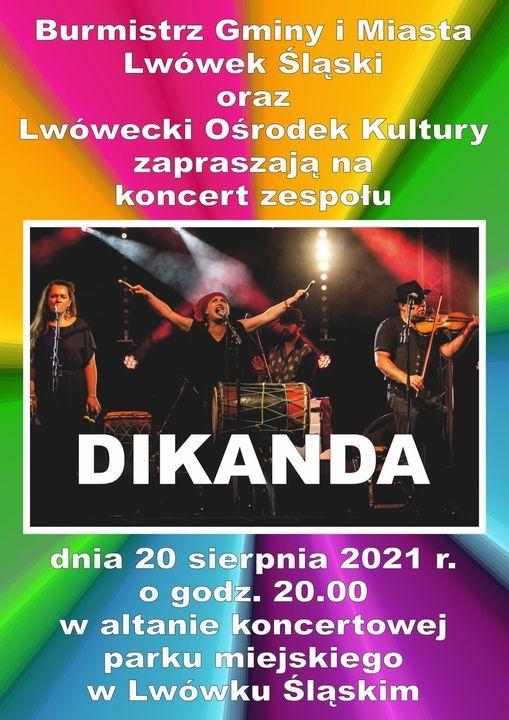 Lwówek Śląski: Zagra Dikanda