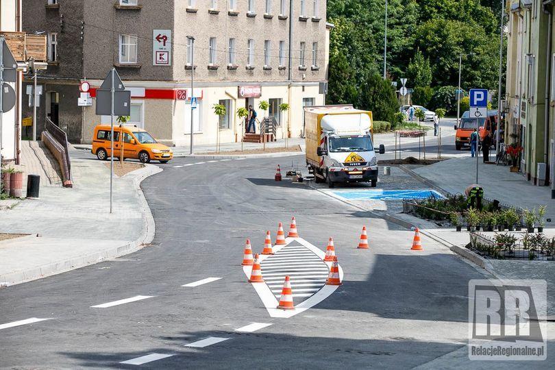 Kamienna Góra: Ulica po przebudowie