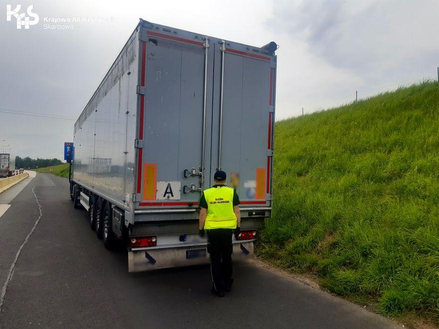 Region: Nielegalny transport zatrzymany przez KAS