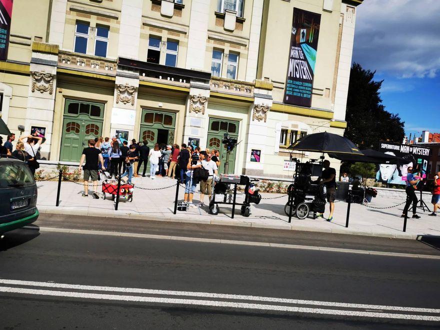 Jelenia Góra: Kręcili film w teatrze