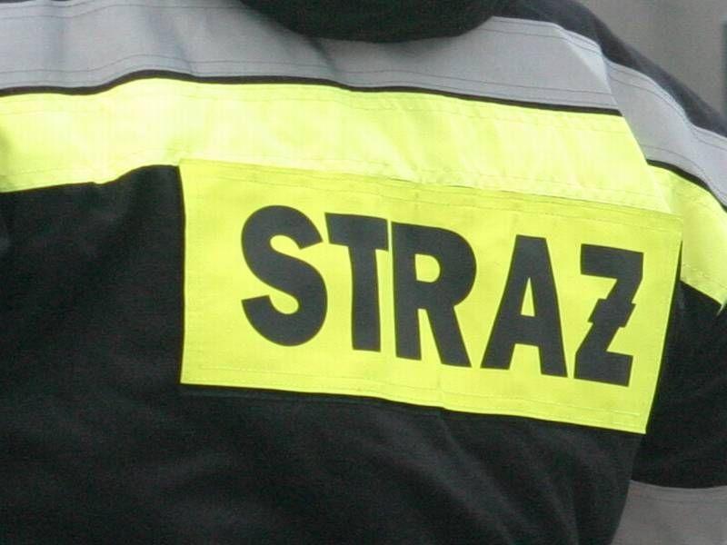 Jelenia Góra: Strażacy usuwali plamę oleju
