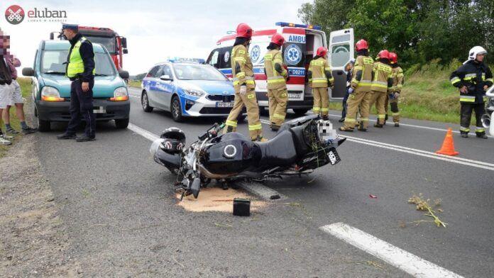 Pisarzowice: Śmiertelny wypadek na DK30 w Pisarzowicach