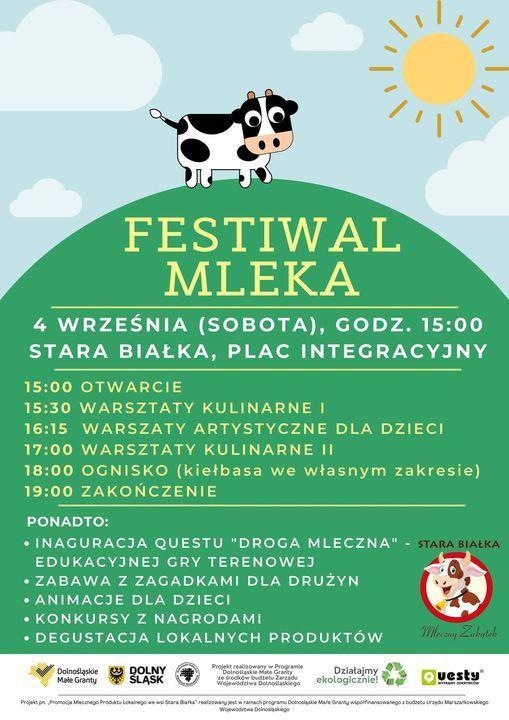 Gmina Lubawka: Festiwal mleka