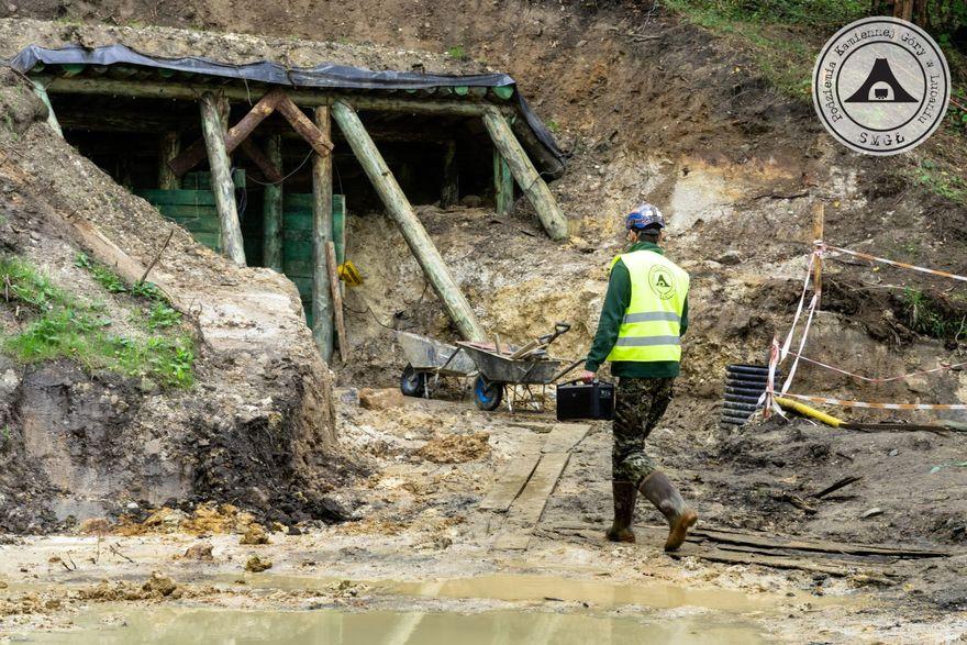 Lubań: Trwa budowa sztolni