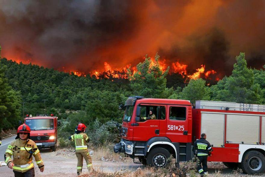 Jelenia Góra: Kolejni nasi strażacy pojechali do Grecji