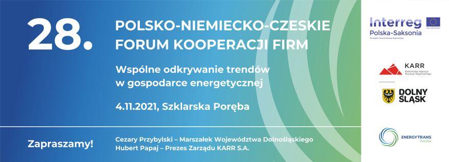 Region: 28. Polsko–Niemiecko–Czeskie Forum Kooperacji Firm