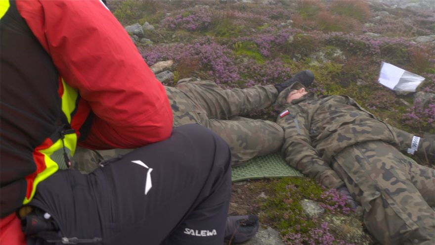 Jelenia Góra: Duże ćwiczenia służb ratowniczych pod Śnieżką
