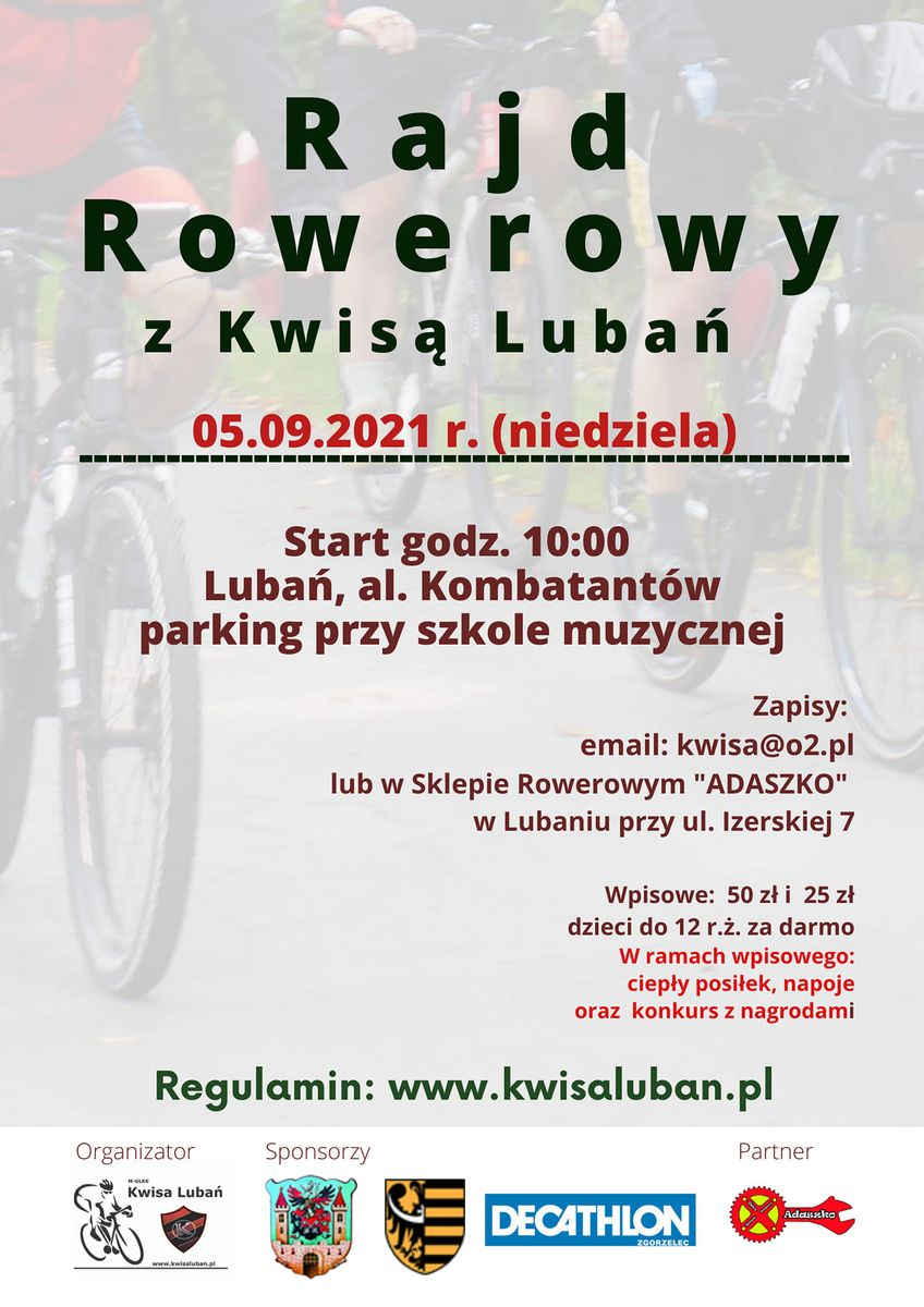 Lubań: Rajd rowerowy z Kwisą