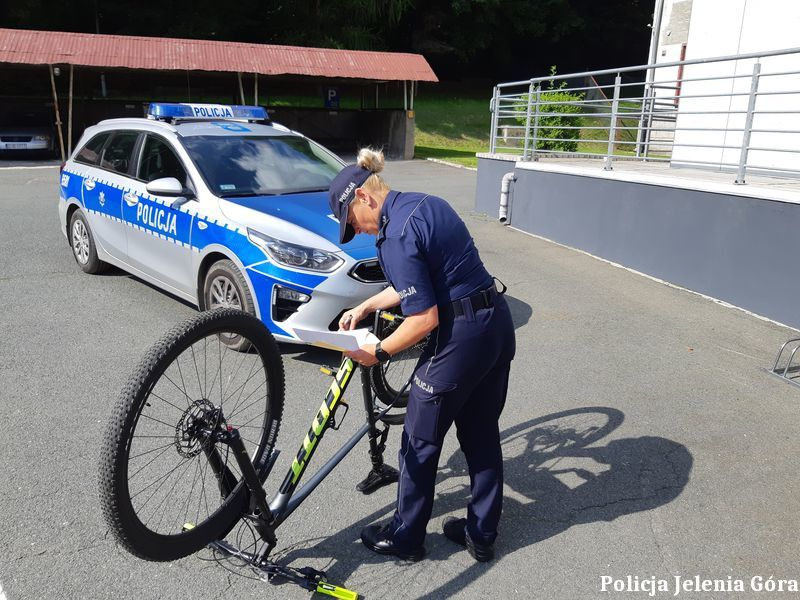 Jelenia Góra: Oznakuj swój rower