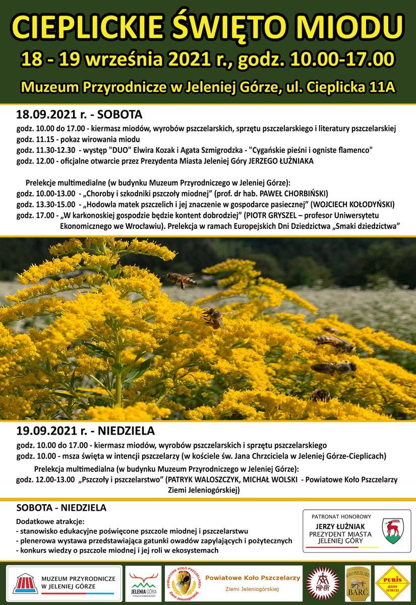 Jelenia Góra: W weekend Cieplickie Święto Miodu