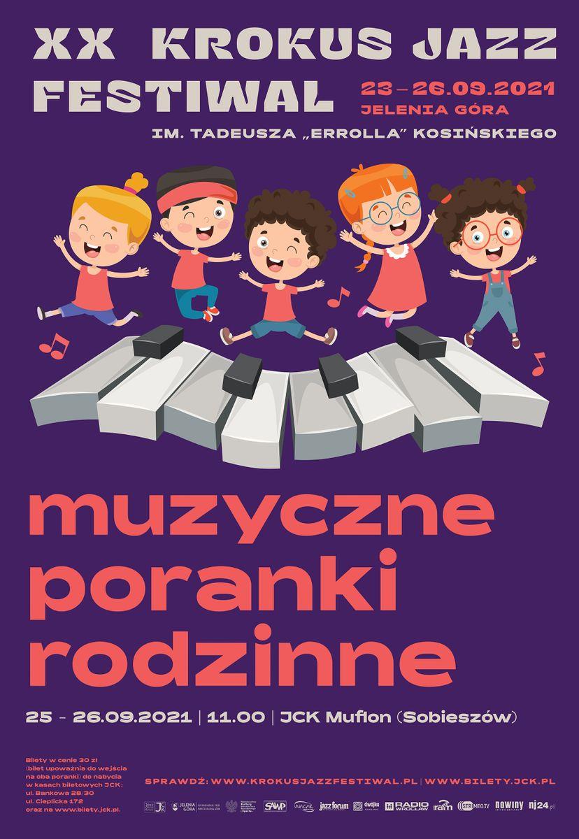 Jelenia Góra: Poranki Rodzinne z Krokus Jazz Festiwal