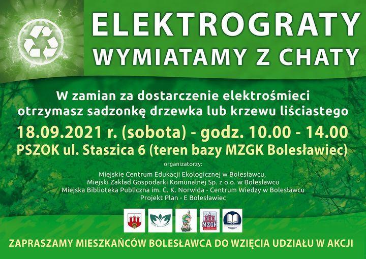Bolesławiec: Sadzonki za elektrośmieci
