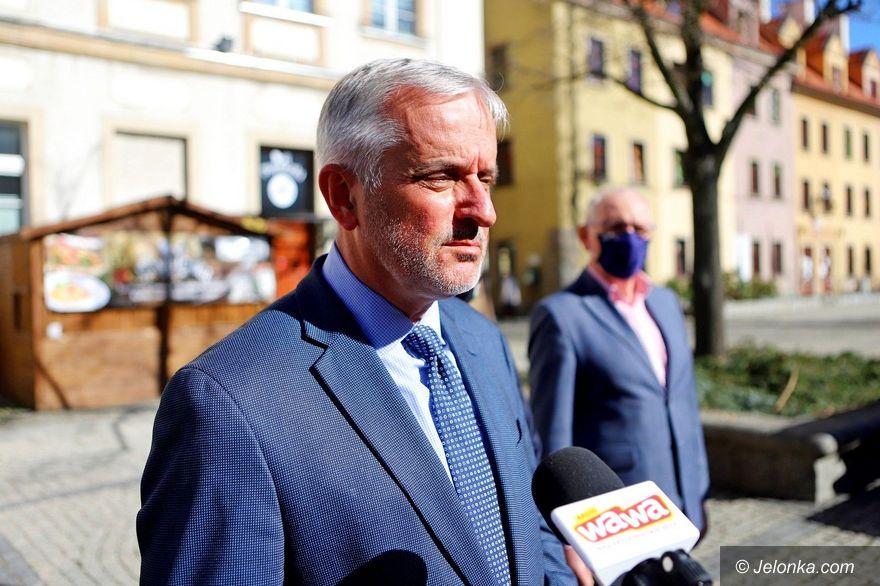 Wałbrzych: Prezydent Wałbrzycha z wypowiedzeniem umowy