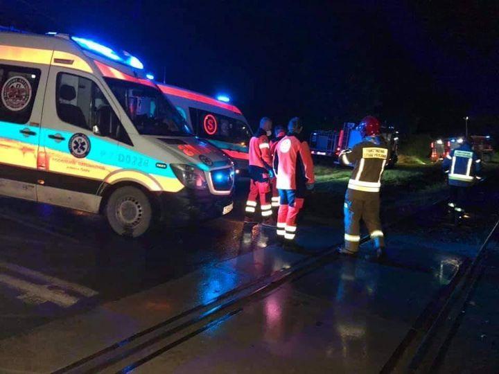 Gmina Lubawka: Auto uderzyło w szynobus