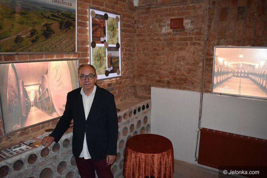 Jelenia Góra: Otwarcie winiarni noblisty