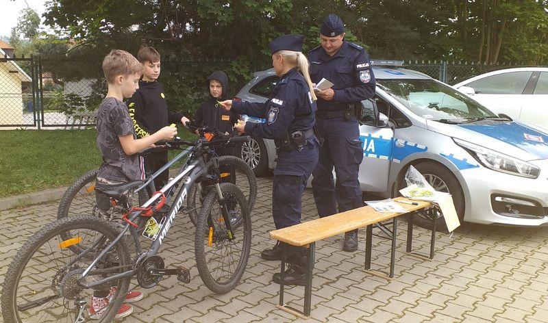 Powiat: Znakowanie rowerów  w Jeżowie Sudeckim