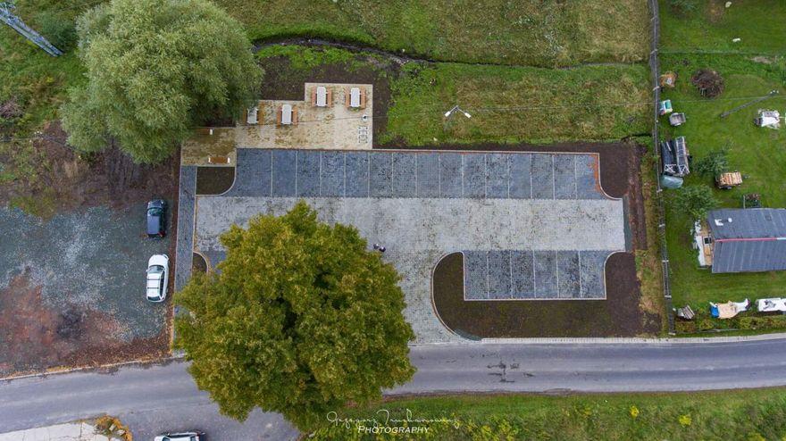 Strużnica: Nowy parking w Rudawach