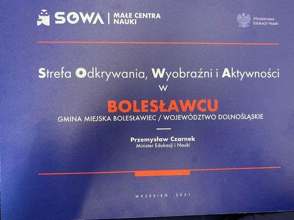 Bolesławiec: SOWA w mieście