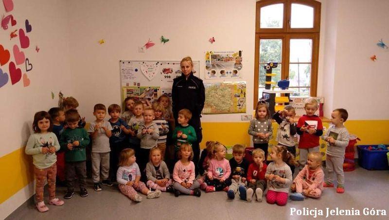 Szklarska Poręba: Dzielnicowa u przedszkolaków