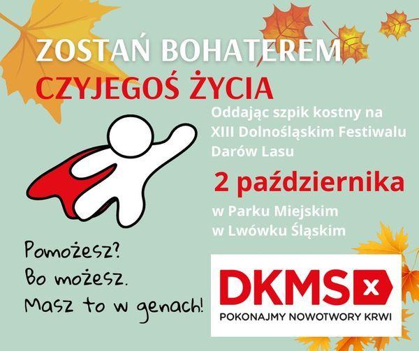 Lwówek Śląski: Akcja Fundacji DKMS