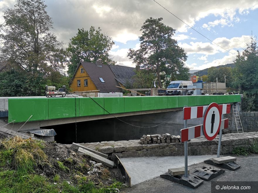Jelenia Góra: Przebudowa mostu blisko finiszu
