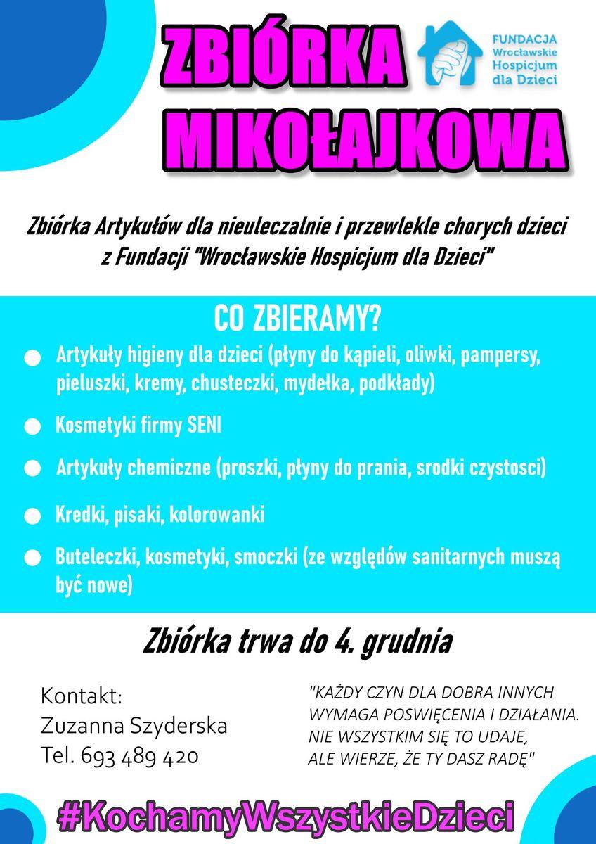 Wrocław: Mikołajkowa zbiórka