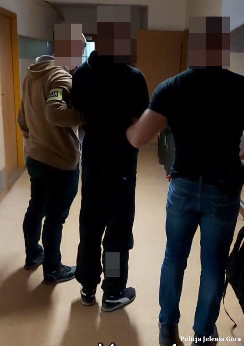 Jelenia Góra: Seryjny włamywacz zatrzymany