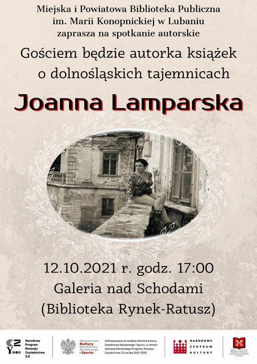 Lubań: Spotkanie autorskie z Joanną Lamparską